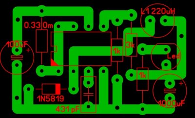 Импульсный преобразователь на MC34063A