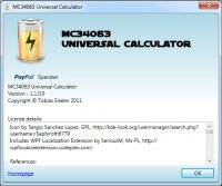 MC34063 Universal Calculator v1.1