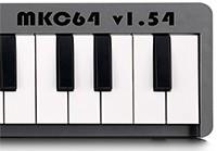 Midi клавиатура на контроллере  PIC16F84 (MKC64  v1.54)