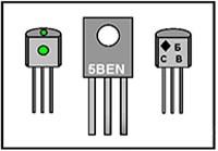 Цветовая  и  кодовая  маркировка  транзисторов