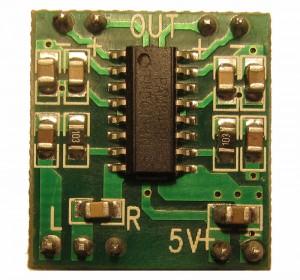 Усилитель PAM8403 2x3Вт D-класса